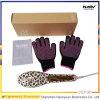 Escova Ionic de 2 em 1 com rosa e preto Colour100V -240V Escovadeira de cabelo cerâmico de turmalina iônica 2 em 1