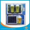 Mini indicatore luminoso solare con il caricatore del telefono mobile