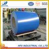 Bobine en acier galvanisée enduite bleue de produits en acier de couleur