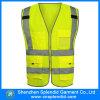 Veste reflexiva feita sob encomenda da segurança da alta qualidade com multi bolsos