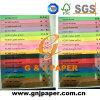 Papel Offset colorido do fornecedor de papel profissional para a venda