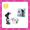 Juguete plástico negro fijado juguetes 1200 del niño del microscopio del microscopio de X