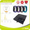 Horloge van de Pedometer van de Zuurstof van het Bloed van het Tarief van het Hart van de Monitor van de Bloeddruk het Waterdichte Slimme