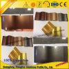 Profil en aluminium de pipe de Customerzied avec les couleurs en cristal d'électrophorèse