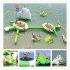 膨脹可能な浮遊水公園、水膨脹可能な水公園装置のおもちゃ