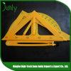 Regla de encargo del plástico del triángulo de la regla de la escala de los nuevos productos