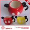 La tasse de café en céramique de Mickey Mouse avec conçoivent en fonction du client pour les gosses (CG219)