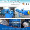 Una máquina de desmenuzado de plástico de eje / Shredder hidráulico de empujador