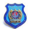 Het Kenteken van de Politie van het metaal (Politie kenteken-LU-008 van het zoals-Metaal)