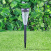 Indicatore luminoso solare di plastica dell'iarda del giardino