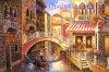 Pittura a olio all'ingrosso di Venezia su tela di canapa (T25)