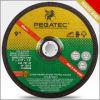 Rodas de moedura flexíveis super de Gc80# Pegatec para o tamanho 4  - 9  da espessura da pedra e do vidro 3.0mm