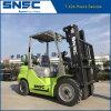 Capacité duelle de Snsc 3.5ton de chariot élévateur de LPG Fule d'essence de la CE