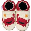 Chaussures de bébé de basane et chaussures d'enfants (B0001)