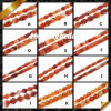 Carnelian, Red Agate Gemstone Beads in Vairous Shape, Stone Jewelry (AG009)