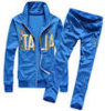 Il colore blu di vendita caldo su ordinazione degli uomini mette in mostra i vestiti