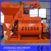 Js1000 het Dubbele Pneumatische Lossen van de Concrete Mixer van de Schacht