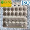 Cartón de huevos a prueba de choques moldeado de la bandeja del huevo de la pulpa
