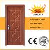 Fabrik-Auslegung-einzelner Schlafzimmer MDF-Tür-Auslegung-Preis (SC-P073)