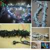 Rubber Cable 10m 100LEDs Waterproof LED String Lights
