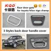 Punho traseiro para da tampa plástica do tailgate do ABS de Toyota Hilux a tampa plástica do punho das bacias para acessórios de Toyota Hilux Vigo