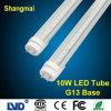 Het hoge LEIDENE van de Efficiency van het Lumen G13 0.6m 10W T8 Lichte Koele Wit van de Buis