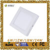 12W Square Surface Mounted СИД Panel Light