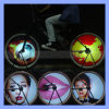 144 fahrrad-Rad-Anzeigesystem-Fahrrad-Leuchte LED-RGB DIY bunte programmieren