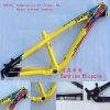 Inclinação do frame da liga da bicicleta de montanha MTB do Kinesis Td420s Dirtjump DJ Alluminum, BMX, frame da bicicleta do estilo da inclinação 4X do peso 2.1kg do curso 100-140mm do Am Hardtail