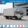 Foton 4X2 Small Refrigerated Van Trucks para Sale