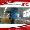 Papel automático lleno y máquina de reciclaje plástica