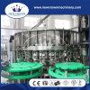 Tipo que introduce máquina de rellenar del tornillo automático del licor de 32-32-10 para la botella de cristal con la tracción del casquillo