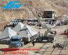 Grue télescopique de Boomtruck de porte-fusée de grue de camion d'usine mini