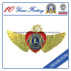 Lion de lujo Club Lapel Pins con Soft Enamel