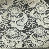 Tela química do laço do algodão clássico do teste padrão de flor