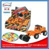 Caramelo determinado del juguete del coche de la construcción plástica para los cabritos