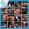 Изготовленный на заказ красивейшие рождественские елки и стикер этикет Windows снежка