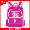 Saco de Escola Extravagante da Lona das Meninas Cor-de-rosa do Saco de Escola da Criança Kl1003