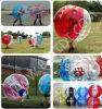 Bola de parachoques inflable, topes del cuerpo, bola de Zorb del cuerpo, balompié del fútbol, bola Loopy, juguete inflable