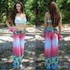 Form-heiße Verkaufs-bunte Drucken-Frauen-gerade kurze Hose