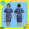 SMS Patient Gown mit Blue Color, Professional Supplier