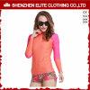 Chemise impétueuse de butoir d'ajustement de vague déferlante desserrée de rose pour des femmes