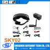 Skyzone Fpv 3D 40CH Diversity Aio mit Head Tacing Video Goggles Fpv System Sky02 Includes Fpv Camera, Transmitter und Goggle