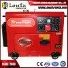 3 generatore silenzioso eccellente del diesel di fase 5kw 5kVA 186f