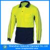 Concevoir la chemise de polo r3fléchissante de sûreté de pistes avec la longue chemise