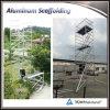 Multi-Employer l'échafaudage mobile en aluminium avec des échelles
