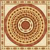Tegel 1200X1200mm van de Vloer van het Kristal van het Tapijt van het Patroon van de bloem Tegel Opgepoetste Ceramische (BMP35)