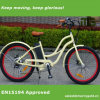 36V En15194 숙녀를 위한 승인되는 전기 바닷가 함 자전거