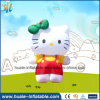 Costume comercial que anuncia o modelo inflável dos desenhos animados do gato/desenhos animados animais infláveis/mascote inflável