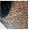 Malha de arame tecido em titânio de malha de crochet especial